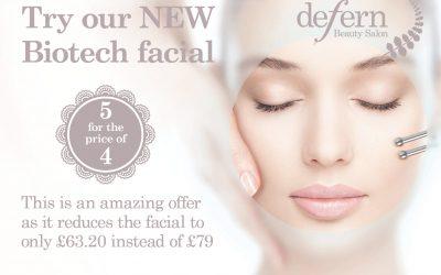 New biotech facial