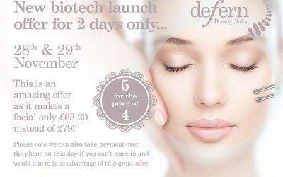 New biotech launch offer