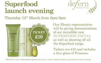 Superfood launch evening