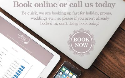 Don't delay, book today!