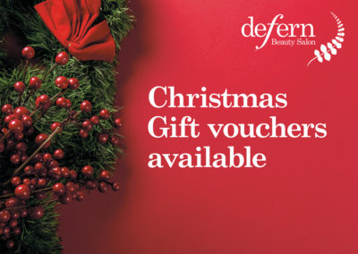 Christmas gift vouchers available