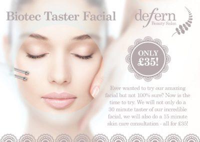 Biotec Taster Facial